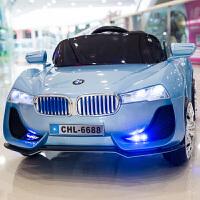 儿童电动车四驱四轮汽车遥控玩具车可坐人小孩婴儿带摇摆宝宝童车