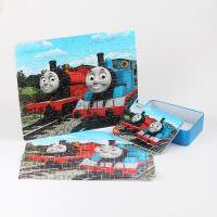 ?拼图小火车3-5-6-7-8岁4古部飞侠60片儿童木质玩具?