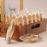 【支持�Y品卡】led�襞�e14e27光源小螺口暖白光高亮�色3W5W7W�能家用照明螺旋n7l