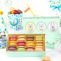 玛呖德正宗法式手工马卡龙甜点西式糕点品12枚甜品儿童款