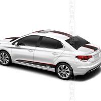 车舞雪铁龙2012 3012新款世嘉C2 C4 C4L C5改装专用整车贴纸