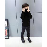 №【2019新款】冬天小朋友穿的纯色童装男童毛衣高领长袖针织衫儿童打底上衣韩版