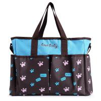 多功能大容量手提挽袋妈妈咪包孕妇产后用品母婴幼儿外出行斜挎包