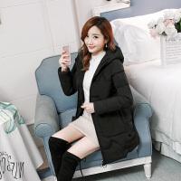 女中长款韩版修身显瘦女装棉衣加厚女士冬季棉袄外套