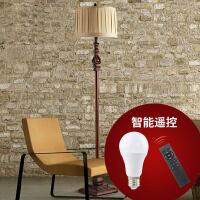 美式落地灯卧室客厅书房立灯复古欧式落地式台灯立式地灯简约遥控 遥控板