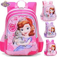 迪士尼女童书包小学生1-3-6年级6-12周岁儿童背包5苏菲亚女孩书包