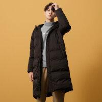 【2件2.5折到手价:224.75,2月19日0点开抢】美特斯邦威羽绒服男2018冬季新款韩版潮流长款加厚保暖学生外套