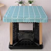 电炉防水垫正方形胶皮茶几防水新款烤炉火炉电炉罩正方形套桌套