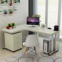 简易电脑桌台式家用简约现代写字桌拐角桌办公桌L型学生转角书桌