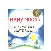进口原版 Many Moons [平装] [4-8岁]