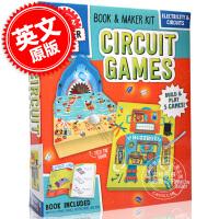 现货 电路游戏 英文原版 Circuit Games 自带素材 培养青少年动手能力 儿童适用