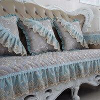 欧式沙发垫四季通用布艺防滑123组合三件套全包套冬罩巾订做