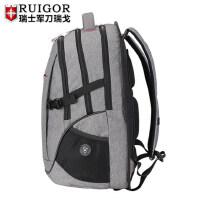 瑞戈瑞士军刀双肩包男士书包高中学生初中学生女瑞士旅游旅行背包