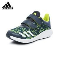 阿迪达斯adidas童鞋17新款女童跑步鞋运动鞋防滑缓震户外休闲鞋 (5-15岁可选)