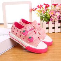 童鞋儿童帆布鞋男女童布鞋子女孩休闲鞋春秋单鞋新款宝宝板鞋