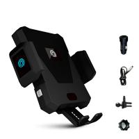 智能车载手机架支架苹果8x无线充电器自动感应抖音同款网红