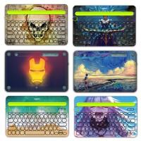 Logitech罗技k480键盘膜k380 k780防尘罩无线蓝牙键盘保护贴膜全套配件装饰个性创意全