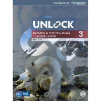 【预订】Unlock Level 3 Reading and Writing Skills Teacher's Book