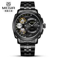 2018新款 新款美格尔手表 镂空机械装置时尚商务运动石英男士手表