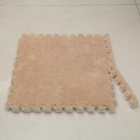 儿童拼图泡沫地垫绒地板垫飘窗垫卧室拼接地毯客厅坐垫榻榻米家用 30*30厘米【1.0厘米厚 无边条 】
