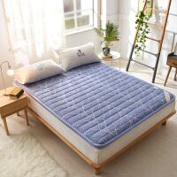 策序家纺全棉防滑床垫床褥子折叠榻榻米垫被褥学生宿舍1.2单双人1.5m1.8米 4.5cm厚