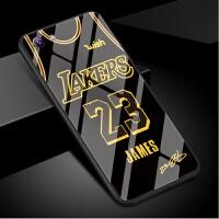 vivox9手机壳男詹姆斯x9plus球衣湖人23号x9splus玻璃套球星新款x9i欧美nba套篮