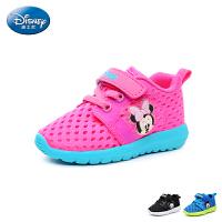 迪士尼Disney童鞋18新款婴童宝宝鞋时尚透气幼童学步鞋宝宝步前儿童运动鞋 (0-4岁可选)DH0335