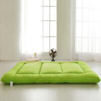 海绵纯色加厚榻榻米床垫床褥子打地铺地板柔软超厚学生宿舍