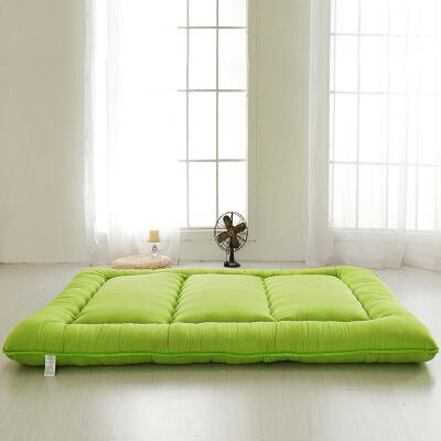 海绵纯色加厚榻榻米床垫床褥子打地铺地板柔软超厚学生宿舍   超厚榻榻米床垫