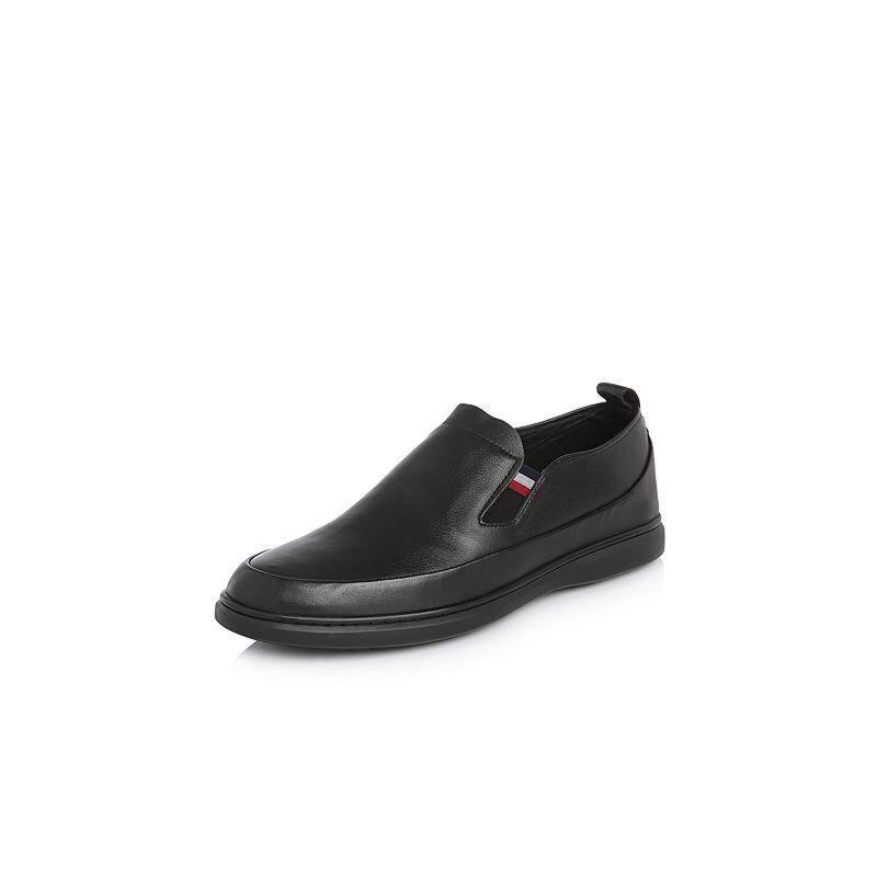 Belle/百丽2018春季新品专柜同款牛皮革男休闲鞋5QT02AM8