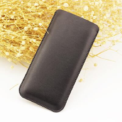 华为手机壳 皮套 Pro手机包MT10内胆袋 直插保护套薄 mate10裸机版 哑光黑