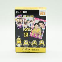 富士拍立得 mini8/9/7s/25/70/90 相机通用相纸小黄人相纸10张电影版