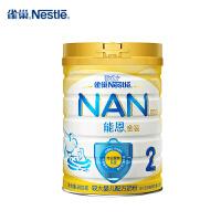 【苏宁红孩子】雀巢Nestle能恩2段900g较大婴幼儿配方牛奶粉宝宝奶粉(6-12个月