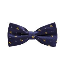 男士韩式英伦蝴蝶结领结男士休闲衬衫藏蓝小狗领结