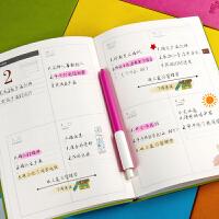 2019-2020年日程本工作日历记事本效率手册日历本日记本笔记本女每日计划本本周计划本日程计划笔记本子定制
