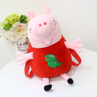 新款儿童卡通书包幼儿园小包包小猪佩琪乔治儿童背包粉红猪双肩包