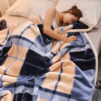 ???双层云毯冬季加厚珊瑚绒毯子法兰绒毛毯学生宿舍单人床单空调被子
