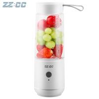 zz:cc 迷你榨汁机家用便携电动果汁机 多功能料理机果汁杯榨汁杯小型学生杯ZC-12V1K