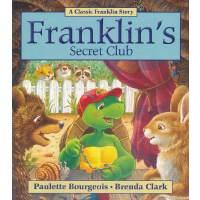 Franklin's Secret Club小乌龟富兰克林:富兰克林的神秘俱乐部(经典故事书) ISBN 978155