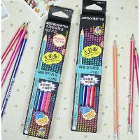 马可 铅笔 儿童学生铅笔 9001E 易握正姿 皮头铅笔