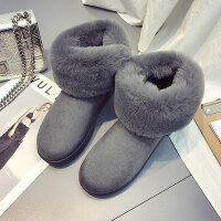 网红雪地靴女冬季韩版加绒加厚保暖棉鞋学生百搭短筒靴子