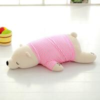 趴趴熊音乐抱枕公仔音乐枕熊女生毛绒玩具抱着睡觉布娃娃送女友