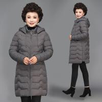 №【2019新款】送胖妈妈的冬装棉衣中长款40岁50中年女装羽绒大码中老年外套