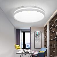佛山照明led吸顶灯 现代简约家用灯饰圆形温馨浪漫灯具房间卧室灯