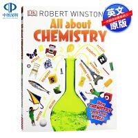 关于化学DK图解百科全书系列 英文原版 All About Chemistry DK儿童科学科普读物 英文版进口书籍正版