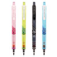 uni 三菱 Kuru Toga 铅芯360度自动旋转自动铅笔 透彩杆 M5-450T 荧光色