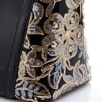 时尚女包新款中年女士包包简约大包大容量漆皮妈妈手提斜挎包