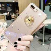 【包邮】iphone7手机壳苹果7plus保护套6plus防摔壳iPhone6s硅胶套软壳4.7寸创意薄软七透明外壳立