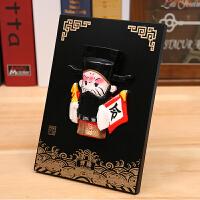 京剧脸谱摆件中国特色礼品送老外出国中国风小礼物手工艺品
