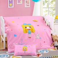 ???幼儿园被子三件套 纯棉婴儿床上用品 儿童午睡被褥含芯六件套
